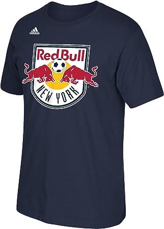 adidas New York Red Bulls MLS Primary Logo Men s Short Sleeve – Camiseta – Camisa – Navy