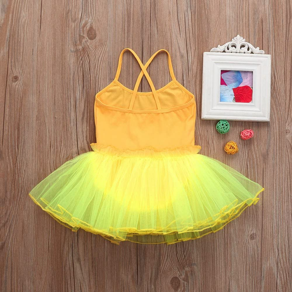 Gymnastics and Ballet Kehen Toddler//Girls Cute Tutu Dress Leotard for Dance