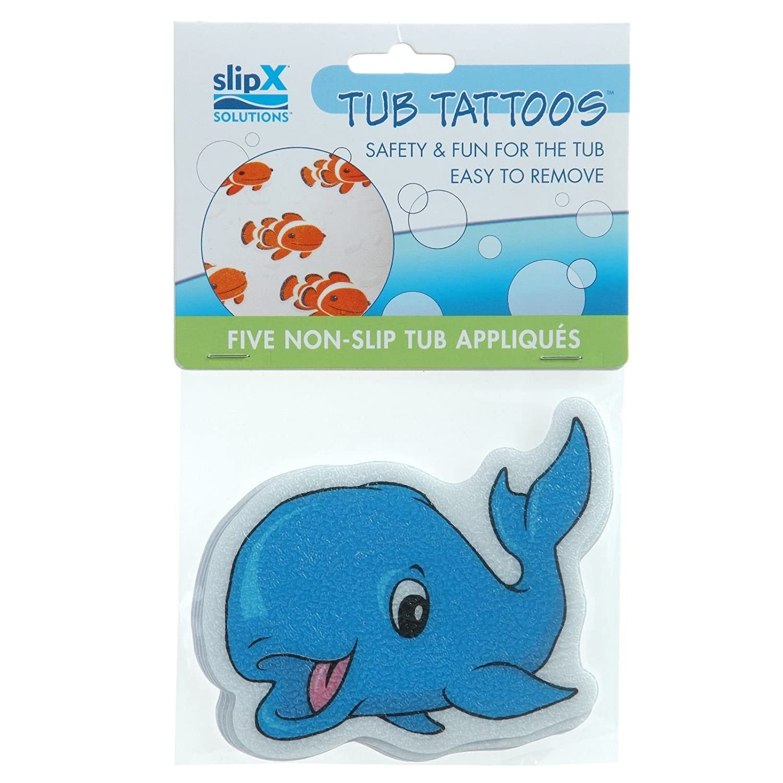 Amazon.com: Bathtub Stickers Whale - Safety Decals Treads Non Slip ...