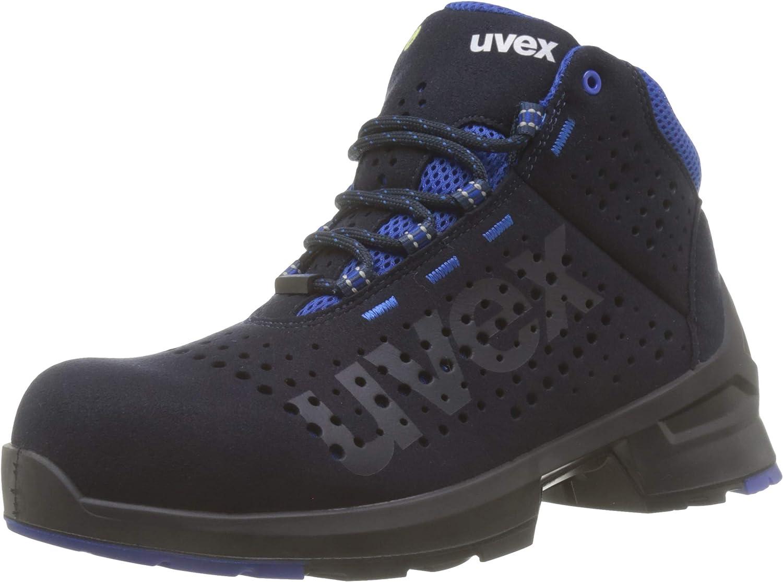 Azul Uvex 1 Bota de Seguridad S1 SRC Punta Antiaplastamiento de Composite Zapato Profesional de Trabajo