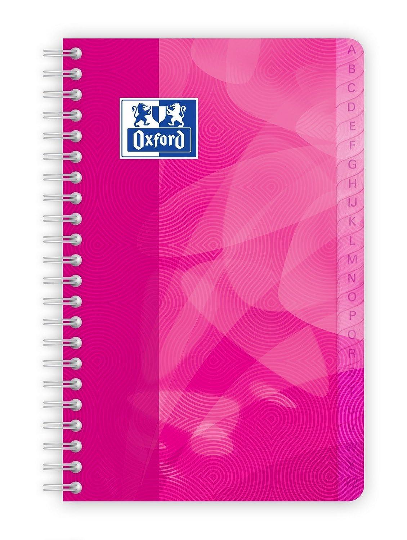 Oxford Répertoire spirale 11 x 17 cm couverture polypro 100 pages petits carreaux 5 x 5 Hamelin 400080692