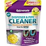 Rejuvenate RJ6DPC-LEMON Lemon Scent Disposer and Pipe Cleaner, 6-Pack, Purple Label, 6 Count