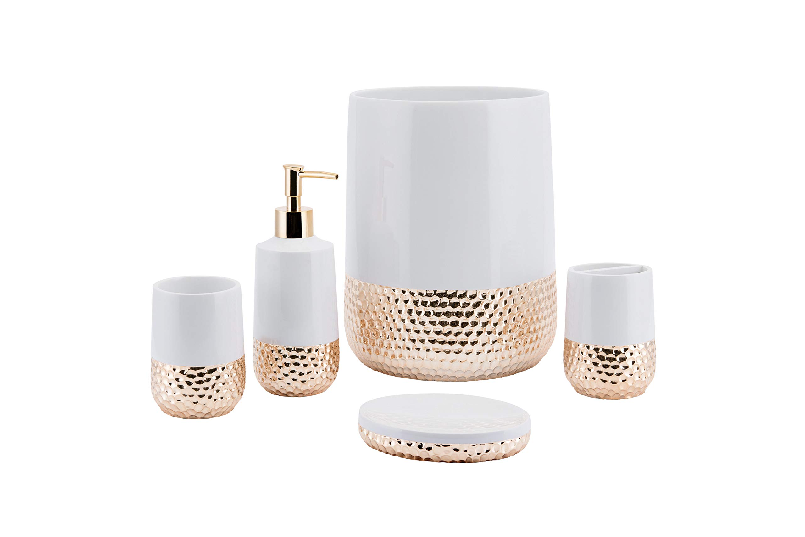 Allure Home Creations Titus Lotion Bottle Rose