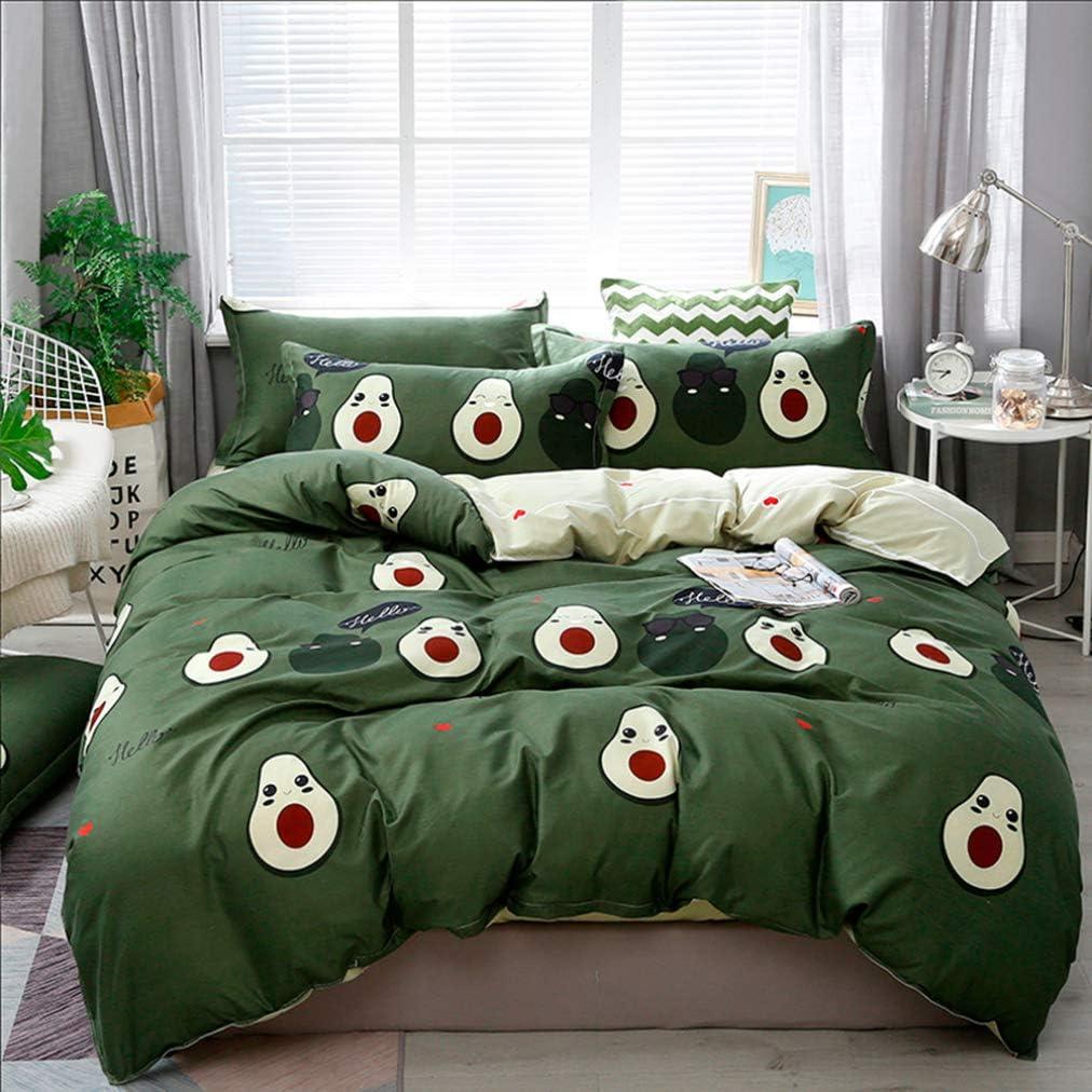 Home Textile Cyan Cute Cat Kitty Duvet Cover Pillow Case Bed Sheet Boy Kid Teen Girl Bedding Linens Set