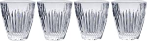 Mikasa Parkside Double Old Fashioned Glass, 9.4-Ounce, Set of 4