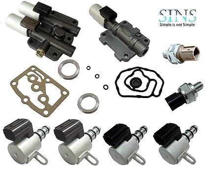 Honda Acura Transmission Solenoid Pressure Switch Kit 28250-P6H-024  28250-P7W-003 28400-P6H-013 28500-P6H-013 28600-RKE-004 28610-RKE-004