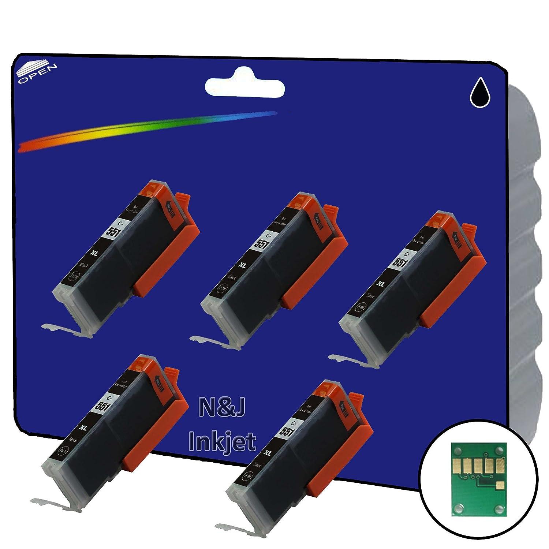 5 C551 foto negro no OEM Compatible cartuchos de tinta XL para ...