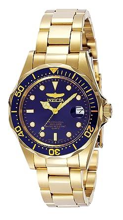 ec032c11b0bf Invicta 8937 Pro Diver Reloj Unisex acero inoxidable Cuarzo Esfera azul   Amazon.es  Relojes