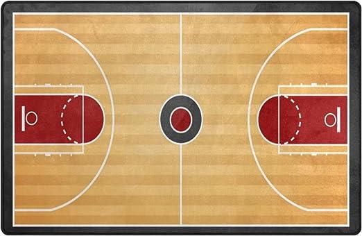 wozo cancha de baloncesto vintage Alfombra Alfombras Alfombra de ...