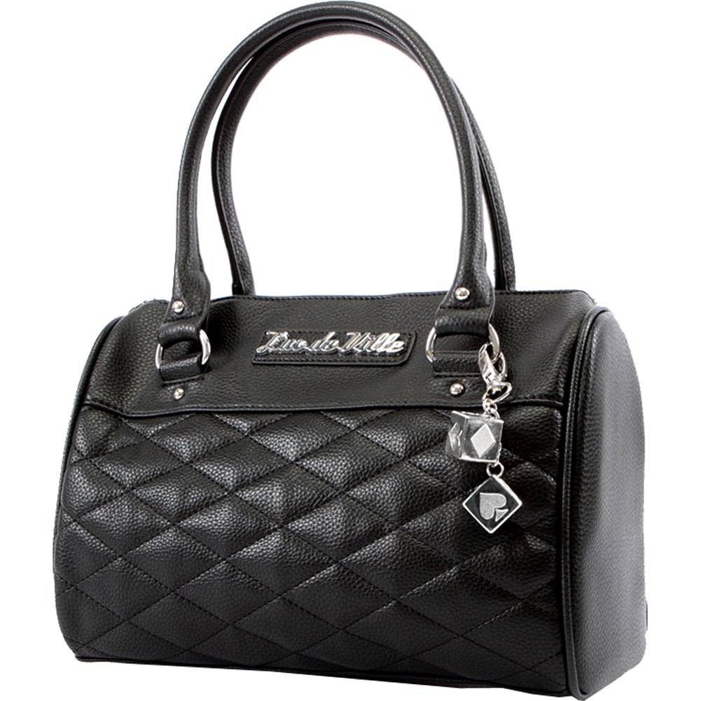 Lux De Ville Mini Atomic Tote Matte Black