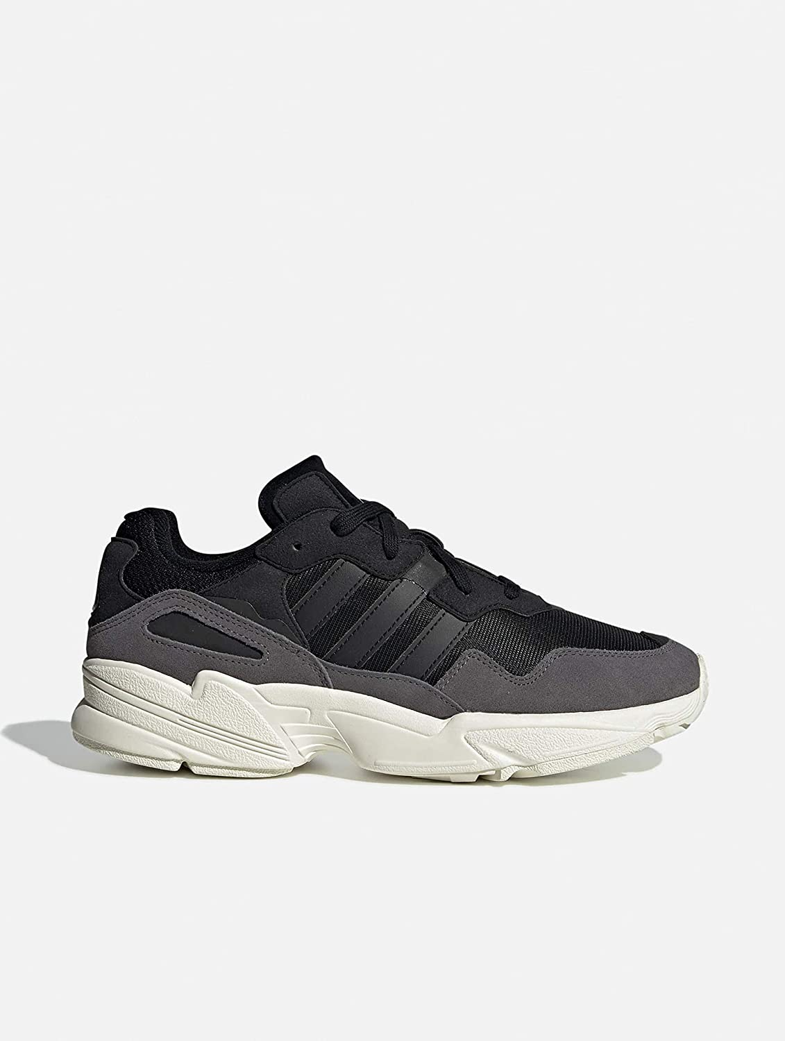 adidas Yung-96, Sneakers Basses Homme Multicolore Core Black Core Black Off White Ee7245