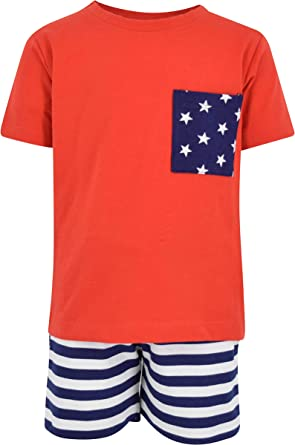 Boys mister 4th of July 2 piece outfit size 3T