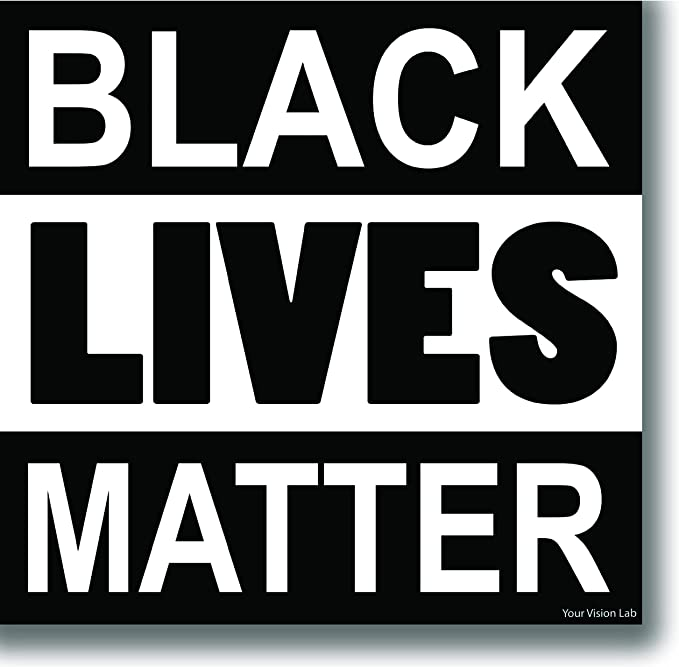 Say Their Names Black Lives Matter 2020 Merchandise Sticker Sticker Vinyl Bumper Sticker Decal Waterproof 5