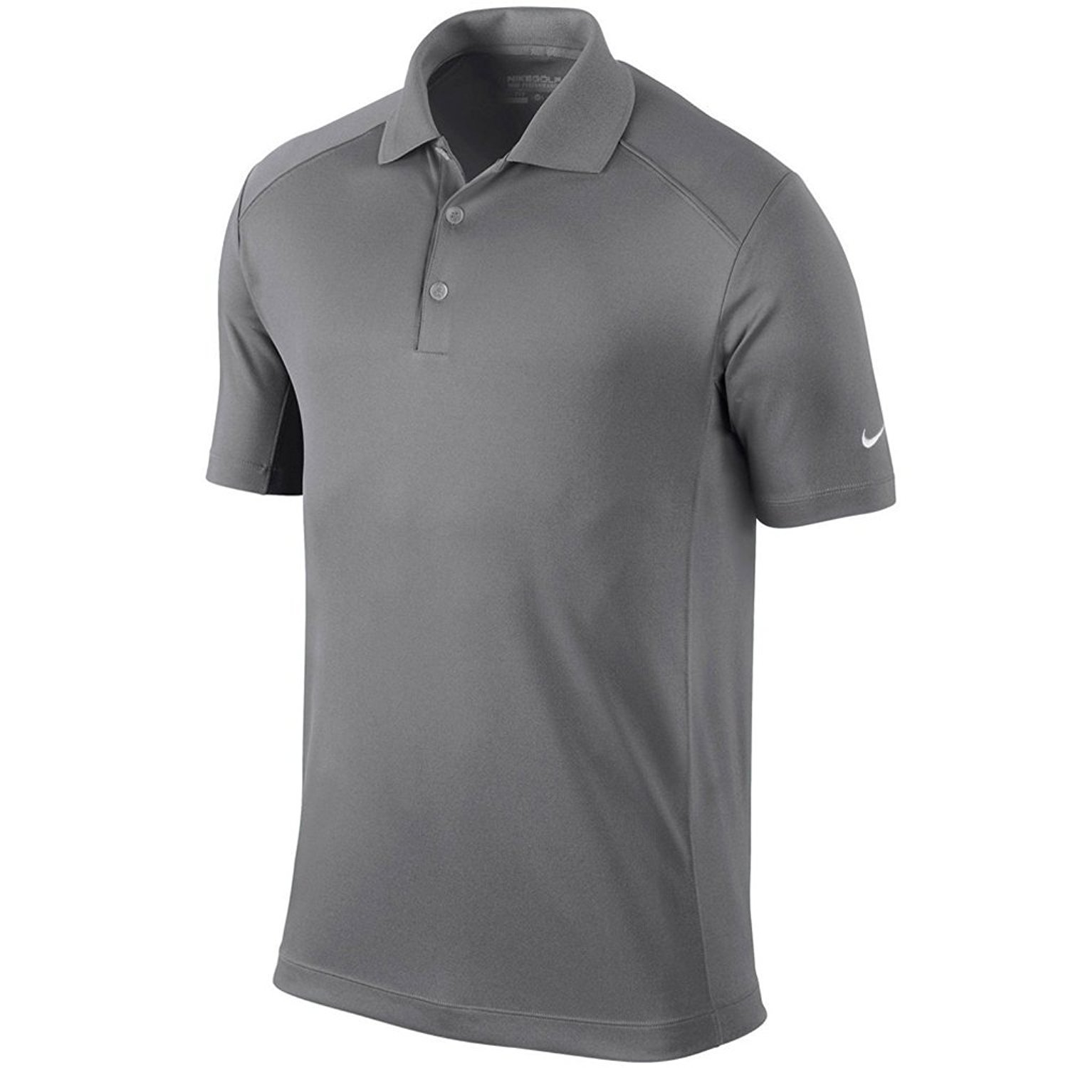 b5322783e Amazon.com: Nike Golf Men's Victory Dri-Fit Solid Polo Grey 818050 093 (m):  Sports & Outdoors