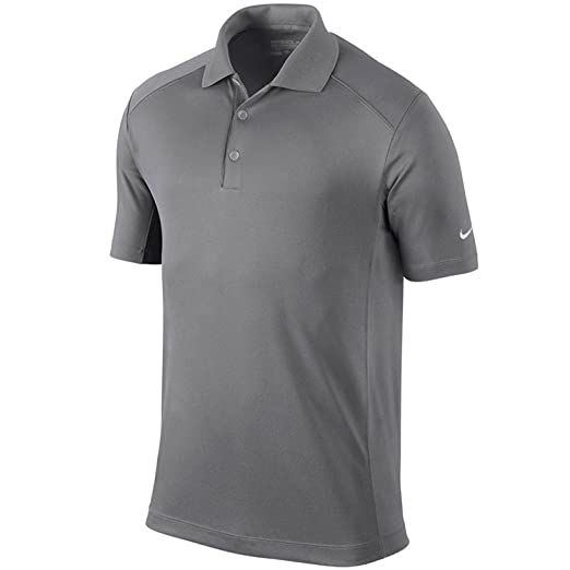 96f841025bc4 Amazon.com  Nike Golf Men s Victory Dri-Fit Solid Polo Grey 818050 093 (m)   Sports   Outdoors