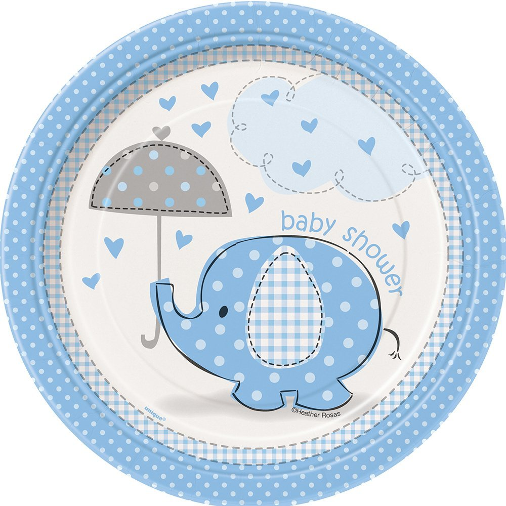 party zoom shower elephant baby name banner il boy birthday fullxfull listing