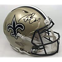 $429 » Drew Brees New Orleans Saints Signed Autograph Authentic On Field Speed Proline Full Size…
