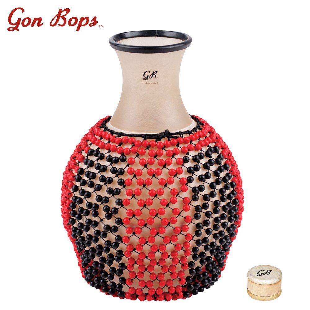 Gon Bops JF-PSHEKRH-KIT-1 Rawhide Shekere with Talking Shaker by Gon Bops