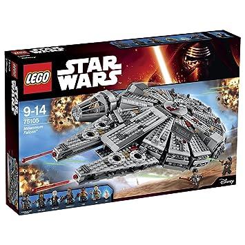 size 7 super cute best sneakers LEGO Star Wars 75105 - Millennium Falcon Astronave