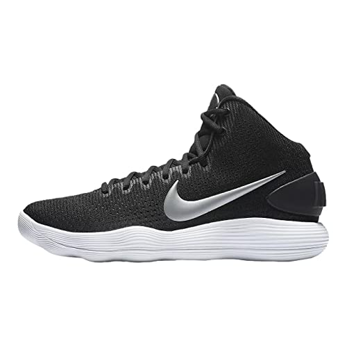 dafd2c57375 Nike Men's Hyperdunk 2017 TB Basketball Shoe Black/Metallic Silver/White  Size 8 M