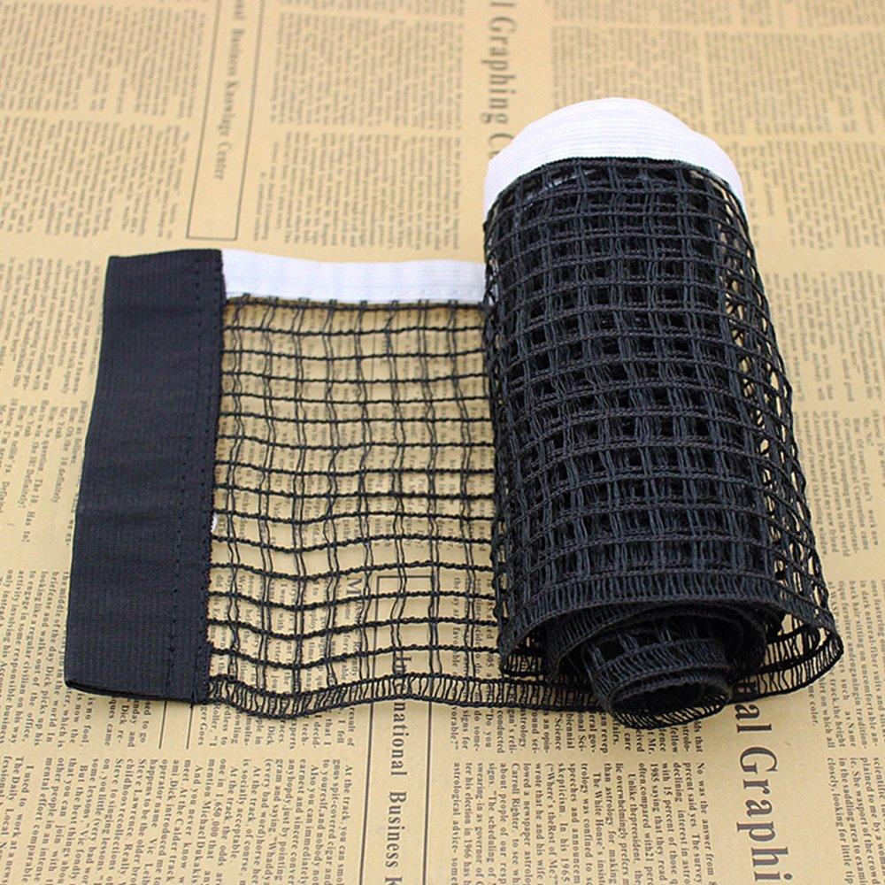 soccik Filet Ping Pong Tennis De Table Filet De Rechange en nylon 182/x 15/cm Ping Pong r/éseau pour les voyages et lext/érieur Noir et Blanc