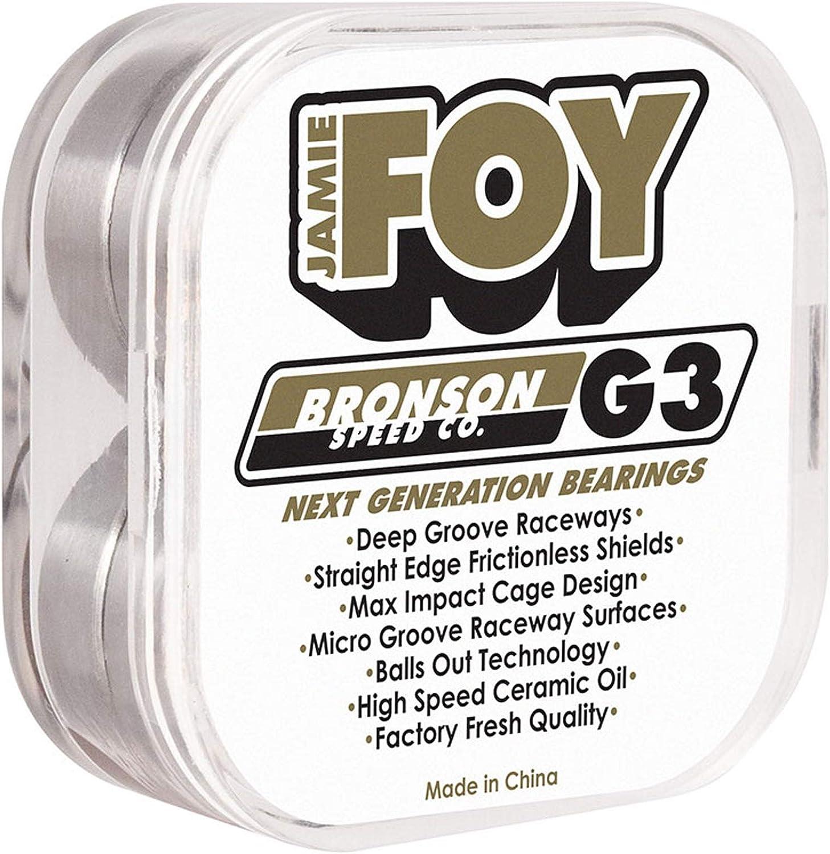 Bronson Jamie Foy Pro G3 Bearings