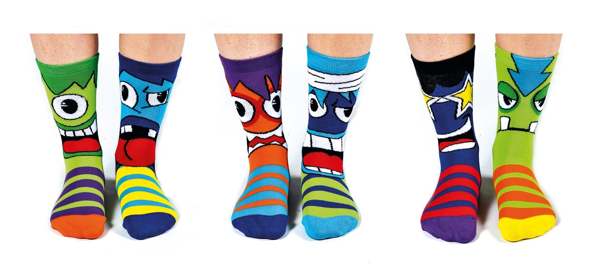United Oddsocks - Recuadro 6 Odd calcetines para los muchachos- Mashers product image