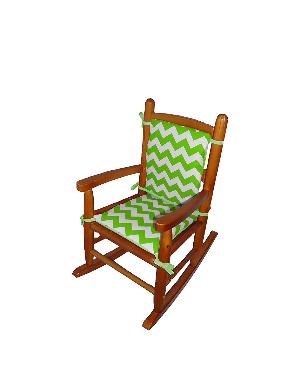 pretty nice 46a6b e1a8d Baby Doll Bedding Chevron Junior Rocking Chair Pad, Pink