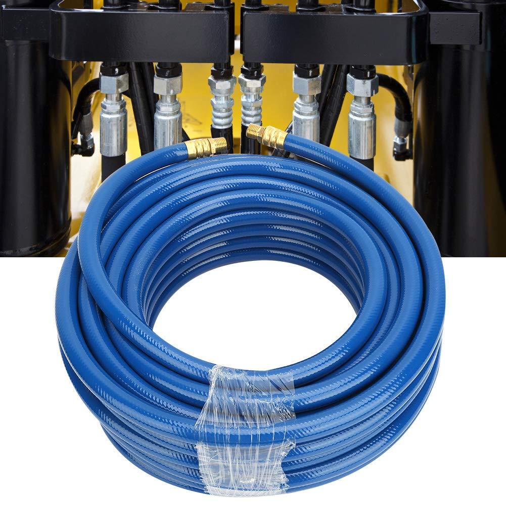 Tuyau dair compresseur en PVC 15 m Bleu 20 bar 60 kg//cm2 850 psi Accessoires pour outils pneumatiques