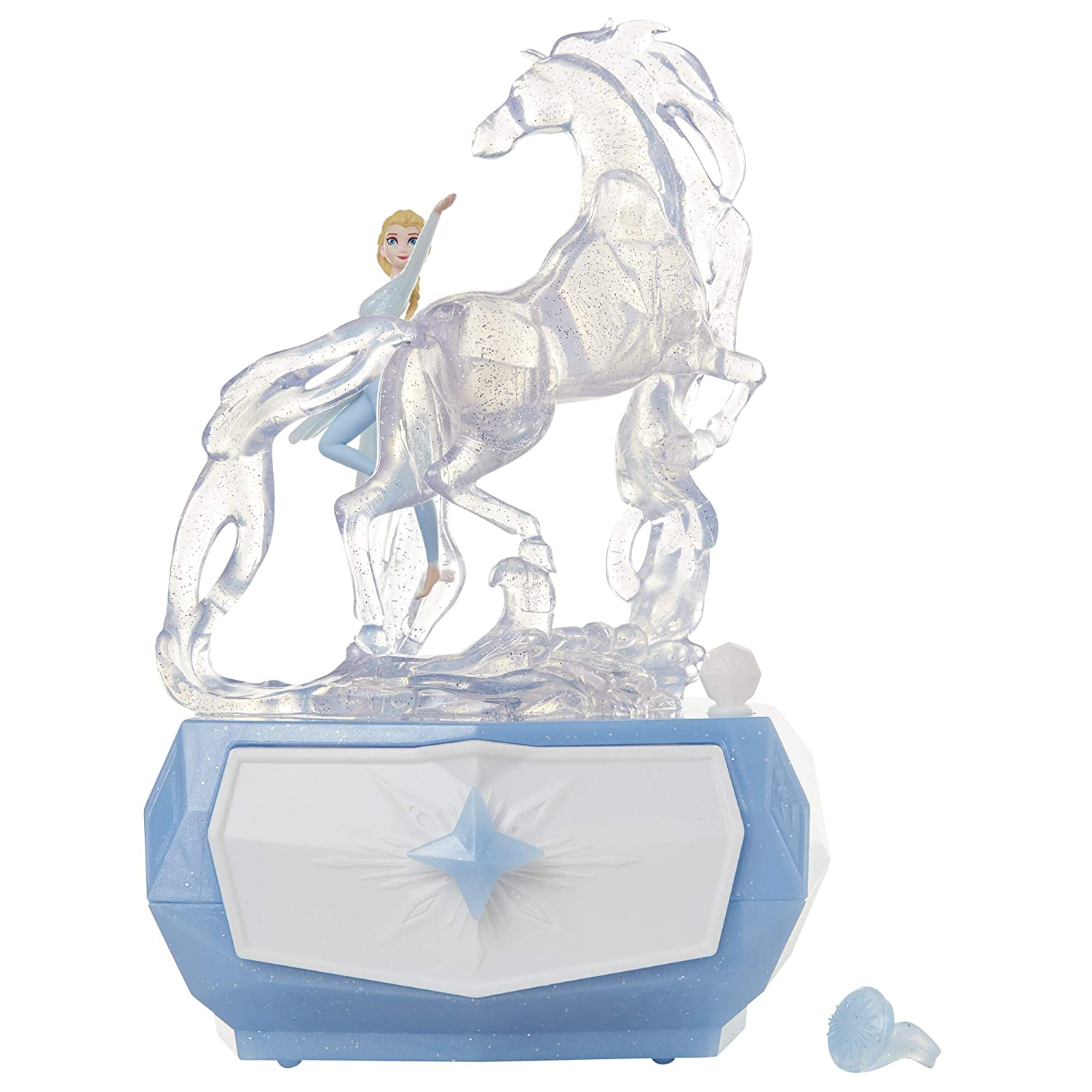 Disney Frozen 2 Elsa /& Water Nokk Jewelry Box with Snowflake Ring Toy Gift NEW