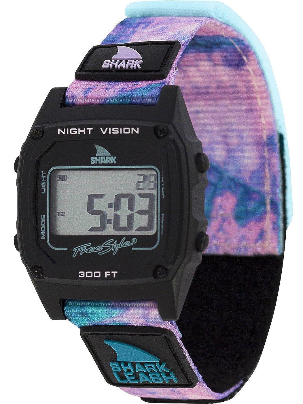 Freestyle Shark Classic Leash Tie-Dye Black Twist Unisex Watch FS101018