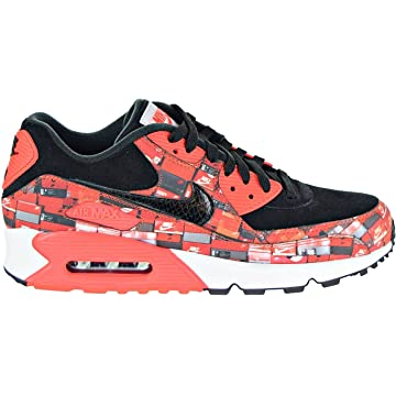 promo code e46e3 c4f7d Nike Mens Air Max 90 Print Running Low Top Athletic Shoes