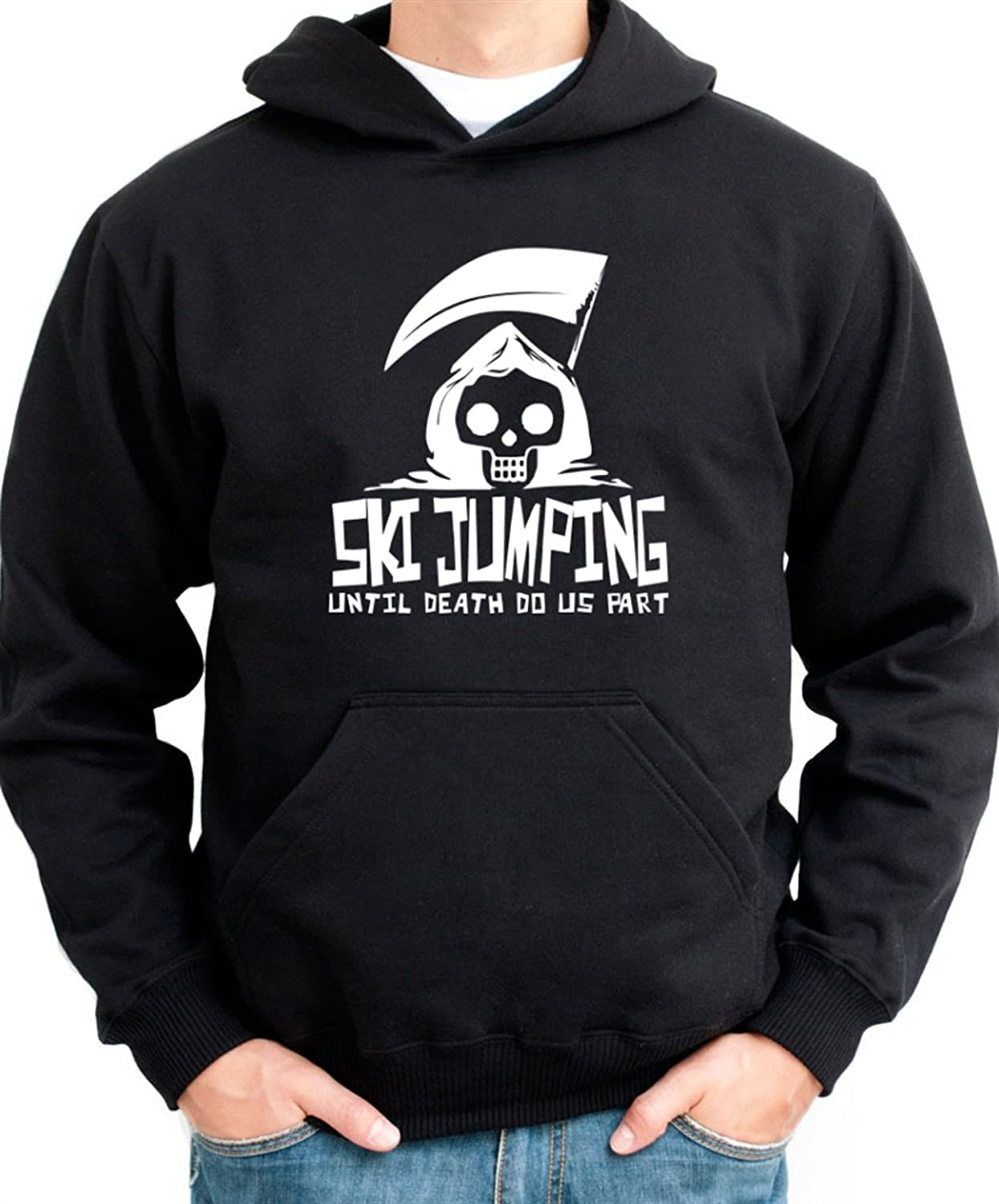 Ski Jumping UNTIL DEATH SEPARATE US Hoodie