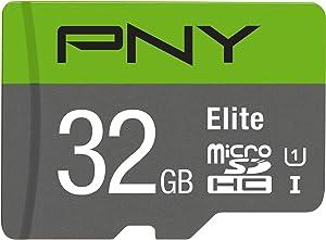 PNY 32GB Elite Class 10 U1 microSDHC Flash Memory Card