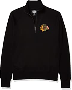 OTS NHL mens Fleece 1/4-Zip Pullover