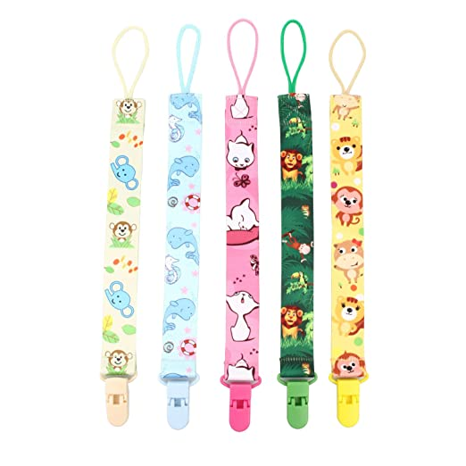Amazon.com : Refaxi Universal Pacifier Soother Clips ...