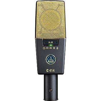 AKG Pro Audio C414 XLII Vocal Condenser Microphone, Multipattern