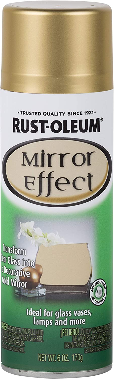 Rust Oleum 286477 Specialty Spray Paint 6 Oz Gold Mirror Amazon Com