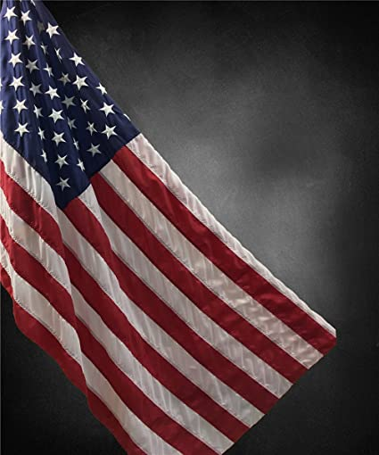 Kate Black Photography Backdrops American Flag Background for July 4th  Independence Day Photo Studio (8x10ft)