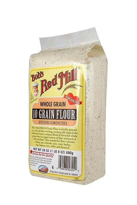 Bob de la piedra de molino rojo Terreno 10 grano harina, 24 ...