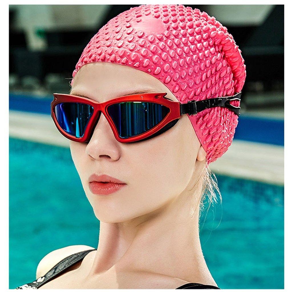 Schwimmbrille für Männer und Frauen Frauen Frauen Schwimmen professionelle Schutzbrille Anti-Fog professionelle Schutzbrille HD ZHJING (Farbe   SCHWARZ, größe   Package B) B07G48CVQG Schwimmbrillen Rabatt f3331d