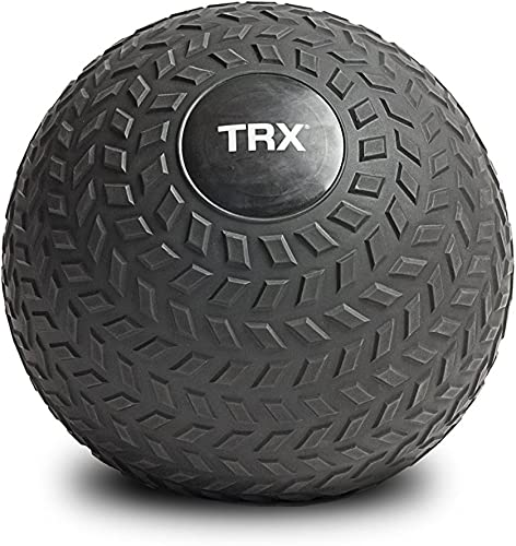 TRX Training Slam Ball, Easy- Grip Tread Durable Rubber Shell