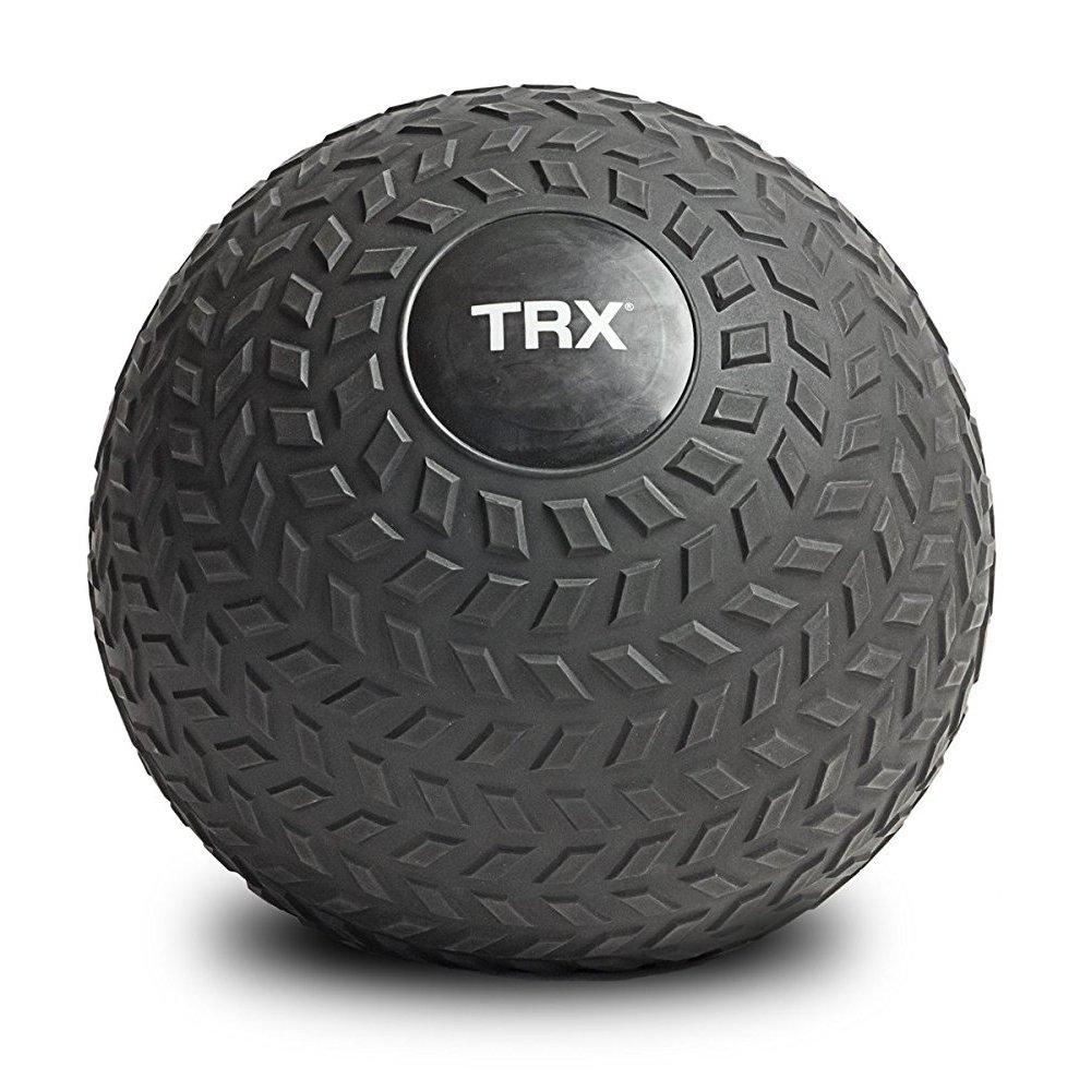 TRX Training Slam Ball, Easy-Grip Tread & Durable Rubber Shell, 10lbs by TRX