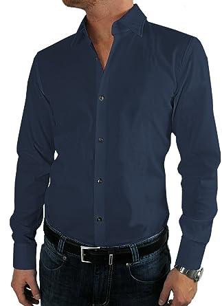 new styles 04942 2affb BOSS HUGO Business-Hemd   Jenno (Slim Fit) dunkelblau/dark ...