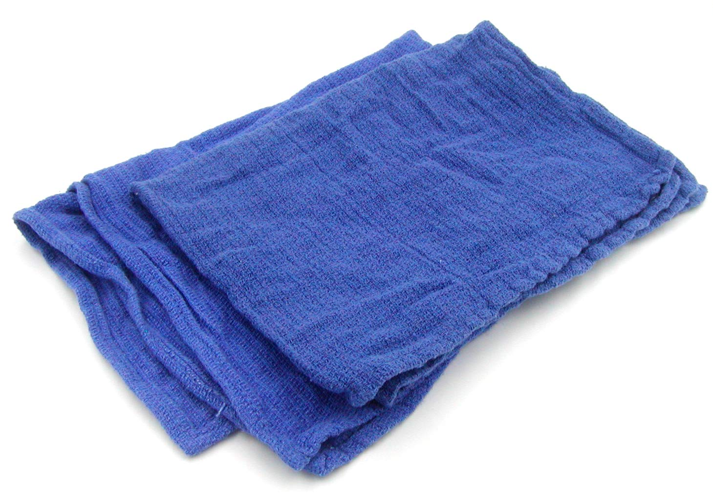 Recycled Blue Surgical Towel Rags - 10 Pound Box - A Perfect Non-Streaking No Lint Towel by A&A Wiping Cloth (Image #2)