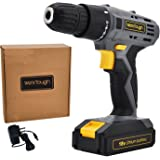 Werktough D018 18V Cordless Drill Driver Powerful Screwdriver Lion Battery With Charger