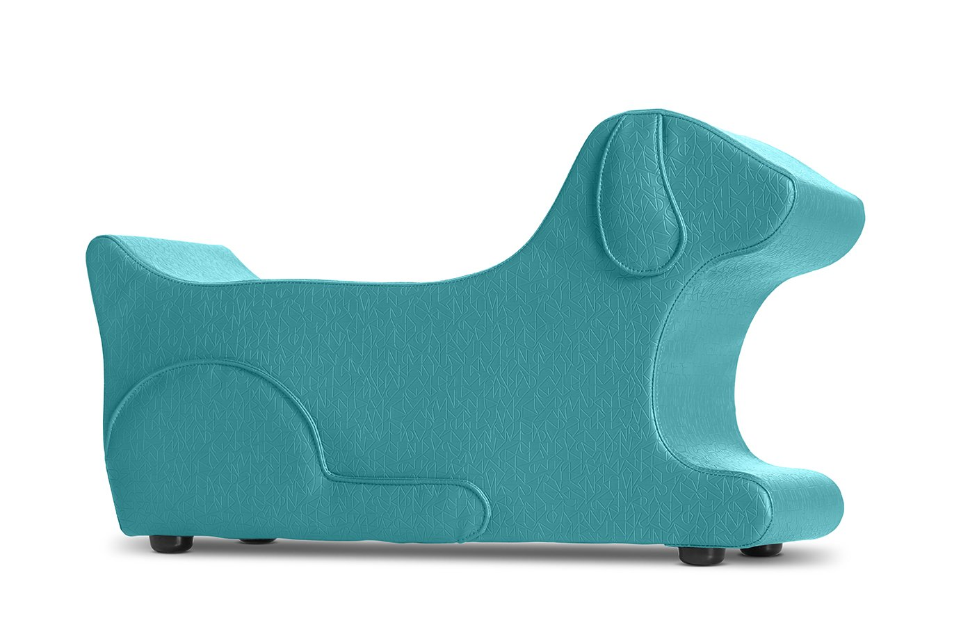 Logic Furniture BARKXTL17 Bark Ottoman, Teal