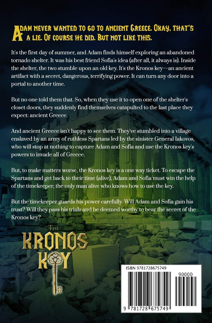 Buy The Kronos Key (Titan Key Chronicles) Book Online at Low Prices