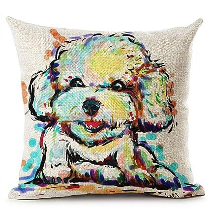 Amazon.com: Bulldog Dachshund Retriever Animal Printed ...