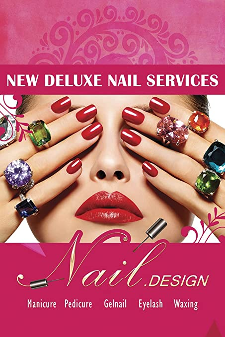 Amazon.com: Super-Supply Nail Art Salon Designs Pedicure Manicure ...